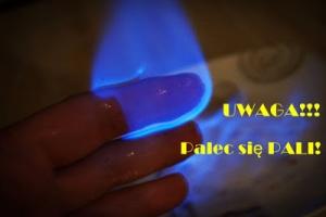 UWAGA!!! Palec się pali czyli wakacyjne piątki z eksperymentami